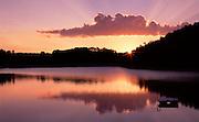 Sunrise At Canton Lake