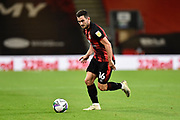 Lewis Cook (16) of AFC Bournemouth during the EFL Cup match between Bournemouth and Crystal Palace at the Vitality Stadium, Bournemouth, England on 15 September 2020.