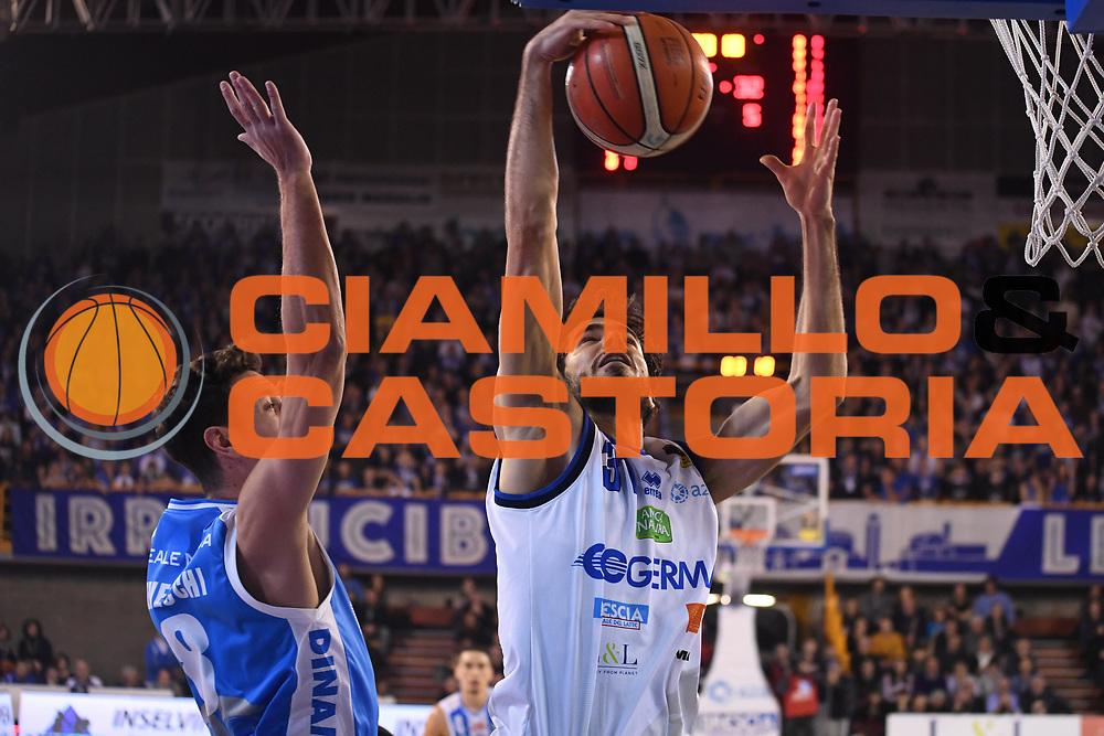 Michele Vitali<br /> Germani Leonessa Basket Brescia - Banco di Sardegna Dinamo Sassari<br /> LegaBasket Serie A 2017/2018<br /> Montichiari, 09/12/2017<br /> Foto M.Ceretti / Ciamillo - Castoria