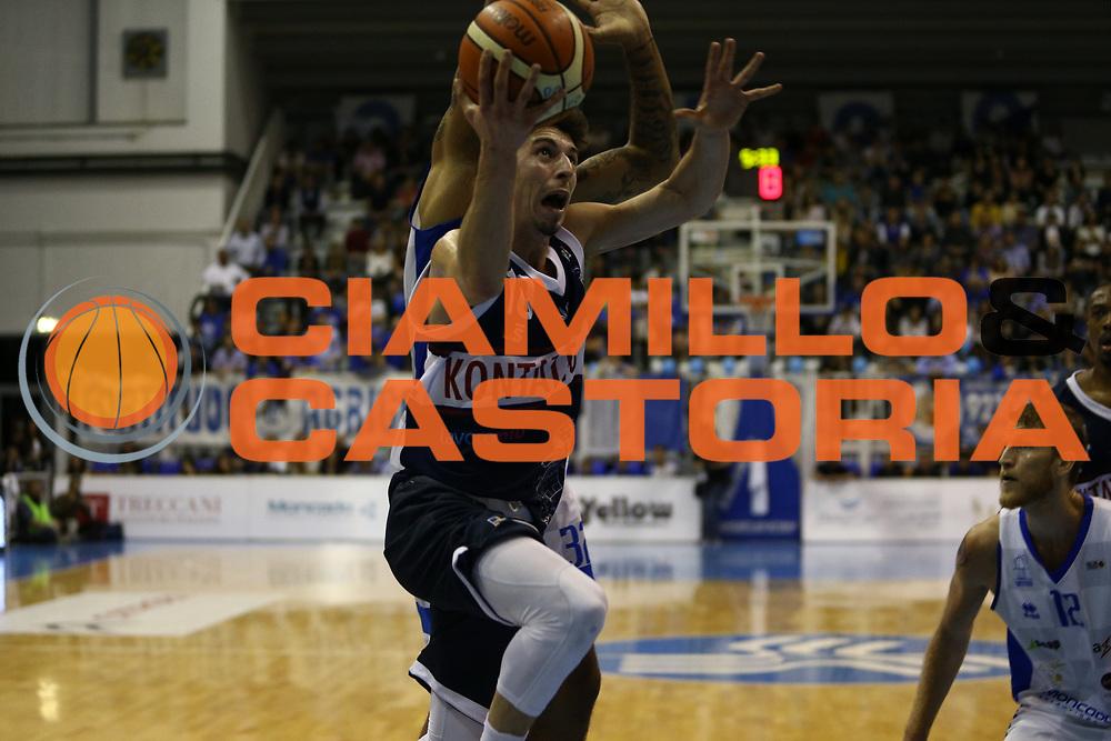 Michele Ruzzier<br /> Moncada Agrigento - Kontatto Bologna<br /> Campionato Basket LNP 2016/2017<br /> Agrigento 03/05/2017<br /> Foto Ciamillo-Castoria