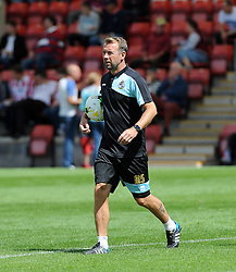 Bristol Rovers assistant manager,Marcus Stewart - Mandatory by-line: Neil Brookman/JMP - 25/07/2015 - SPORT - FOOTBALL - Cheltenham Town,England - Whaddon Road - Cheltenham Town v Bristol Rovers - Pre-Season Friendly