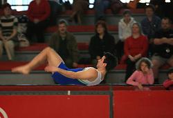 """Rok Klavora at event """"Slovenian Gymnastics stars"""" after the European Championships in Milano, on April 6, 2009, in Hall Slovan, Kodeljevo, Ljubljana, Slovenia. (Photo by Vid Ponikvar / Sportida)"""