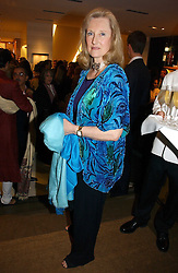CAROLINE, COUNTESS DE CABARRUS sister of the Duke of Northumberland at a party to celebrate the publication of 'Made for Maharajas' by Dr Amin Jaffer hosted by Louis Vuitton at their store on Sloane Street, London on 10th October 2006.<br /><br />NON EXCLUSIVE - WORLD RIGHTS