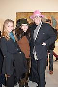 RUBY CARR; ROBERTA HANLEY; CHRIS HANLEY Mandala for Crusoe, Exhibition of work by Francesco Clemente. Blain/Southern. Hanover Sq. London. 29 November 2012