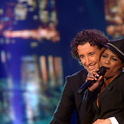 NLD/Weesp/20070312 - 2e Live uitzending Just the Two of Us 2007, Jan Joost van Gangelen en Edsilia Rombley optreden