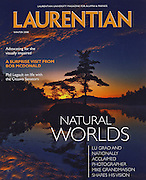 PRODUCT: Magazine<br /> TITLE: <br /> CLIENT: Laurentian Univeristy