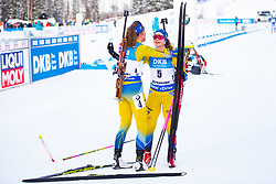 March 10, 2019 - –Stersund, Sweden - 190310 Hanna Öberg and Mona Brorsson of Sweden looks dejected after the Women's 10 km Pursuit during the IBU World Championships Biathlon on March 10, 2019 in Östersund..Photo: Petter Arvidson / BILDBYRÃ…N / kod PA / 92254 (Credit Image: © Petter Arvidson/Bildbyran via ZUMA Press)