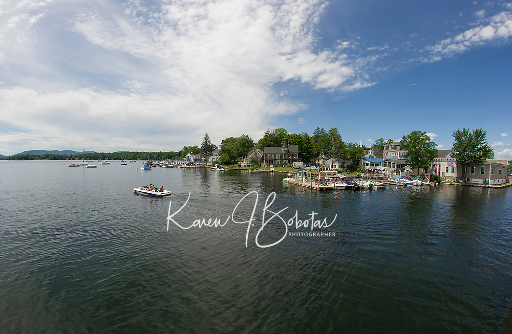 The beauty of Wolfeboro Bay on Lake Winnipesaukee.  (Karen Bobotas/Photographer)