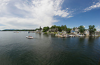 The beauty of Wolfeboro Bay on Lake Winnipesaukee.  (Karen Bobotas/Photographer)