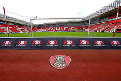 A general view of the Aesseal New York Stadium, home to Rotherham United - Mandatory by-line: Ryan Crockett/JMP - 13/07/2019 - FOOTBALL - Aesseal New York Stadium - Rotherham, England - Rotherham United v Coventry City - Sky Bet League One