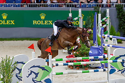 LEPREVOST Pénélope (FRA), Varennes du Breuil<br /> Genf - CHI Geneve Rolex Grand Slam 2019<br /> Prix des Communes Genevoises<br /> 2-Phasen-Springen<br /> International Jumping Competition 1m50<br /> Two Phases: A + A, Both Phases Against the Clock<br /> 13. Dezember 2019<br /> © www.sportfotos-lafrentz.de/Stefan Lafrentz
