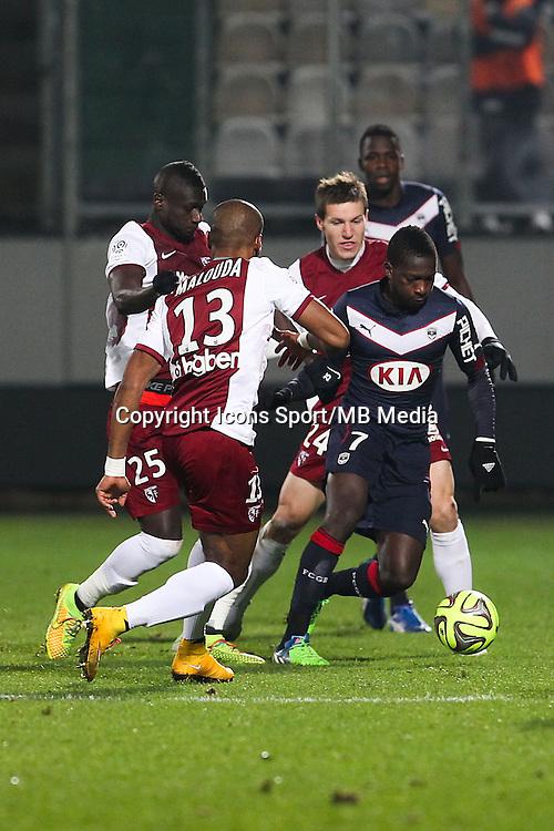 Abdou TRAORE - 03.12.2014 - Metz / Bordeaux - 16eme journee de Ligue 1 -<br />Photo : Fred Marvaux / Icon Sport