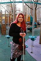 Babysitter Natalia Steinbach in Chelsea..Shot on November 14, 2012 . Photo Credit ; Rahav Iggy Segev / Photopass.com..Jane Ridley babysitter story.
