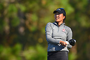Lauren Kim during the final round of LPGA Q-School Stage 3 on the Hills Course at LPGA International in Daytona Beach, Florida on Dec. 4, 2016.<br /> <br /> <br /> ©2016 Scott A. Miller