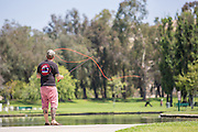 Fly Fishing at Ralph B. Clark Regional Park in Buena Park