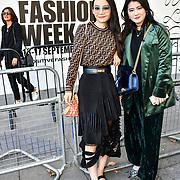 Fashionista attend London Fashion Week SS20