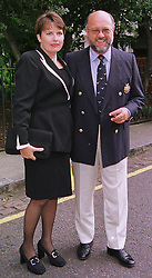Entrepreneur MR & MRS PETER DE SAVARY, at a party in London on 30th June 1999.MTY 78