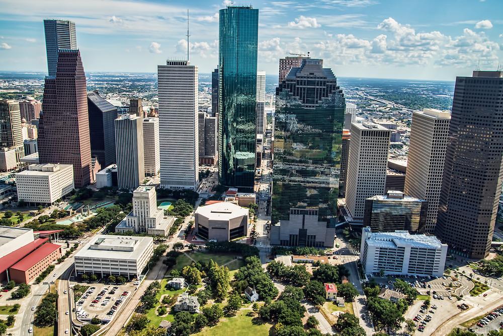 City Hall & Downtown Houston