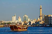 Emirats Arabes Unis, Dubai, quartier de Deira// United Arab Emirates, Dubai, Deira neighbourhood