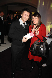 Winner of TV's X Factor 2007 LEON JACKSON and actress FAY RIPLEY at a reception to launch the Kiss It Better Appeal in aid of the Great Ormond Street Hosoital supported by Clinique - held at Harrods, Knightsbridge, London on 30th January 2008.<br /> <br /> NON EXCLUSIVE - WORLD RIGHTS (EMBARGOED FOR PUBLICATION IN UK MAGAZINES UNTIL 1 MONTH AFTER CREATE DATE AND TIME) www.donfeatures.com  +44 (0) 7092 235465