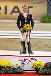 Balshaw Ricky (GBR) - Academy Award<br /> Alltech FEI World Equestrian Games <br /> Lexington - Kentucky 2010<br /> © Dirk Caremans