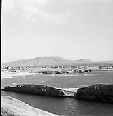1957 View of Bundoran, Co. Donegal, from Golf Links