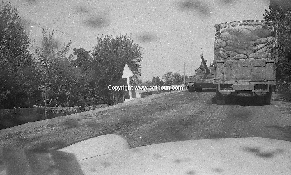 Afghanistan. Russian occupation in september 1979. army, tanks, trucks, russian occupation   Afghanistan  / armee, chars, Occupation russe en Afghanistan    Afghanistan / AFG28617 1