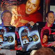 CD presentatie Frans Bauer, met Emile Hartkamp en