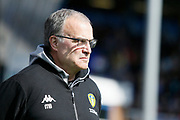 Leeds United Manager Marcelo Bielsa during the EFL Sky Bet Championship match between Birmingham City and Leeds United at St Andrews, Birmingham, England on 6 April 2019.