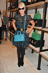 AMANDA ELIASCH at a lunch hosted by Alice Naylor-Leyland and Tamara Beckwith in celebration of the Coach 2015 collection held at Coach, New Bond Street, London on 18th September 2014.