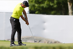 September 2, 2018 - Norton, Massachusetts, United States - Bryson DeChambeau putts the 15th green during the third round of the Dell Technologies Championship. (Credit Image: © Debby Wong/ZUMA Wire)