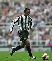 Photo: Andrew Unwin.<br />Newcastle United v Wigan Athletic. The Barclays Premiership. 19/08/2006.<br />Newcastle's Nolberto Solano.