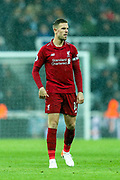 Jordan Henderson (#14) of Liverpool during the Premier League match between Newcastle United and Liverpool at St. James's Park, Newcastle, England on 4 May 2019.