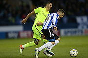 Sheffield Wednesday striker Gary Hooper (14) during the Sky Bet Championship Play Off First Leg match between Sheffield Wednesday and Brighton and Hove Albion at Hillsborough, Sheffield, England on 13 May 2016.