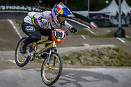#100 (PAJON Mariana) COL during round 3 of the 2017 UCI BMX  Supercross World Cup in Zolder, Belgium,