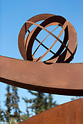 Modern art sculpture feature at the Anima Gardens by Andre Heller, Ourika Valley, Marrakesh, Morocco, 2016–04-22. <br />