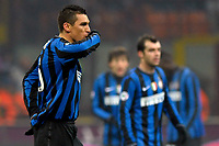 Fotball<br /> Italia<br /> 28.01.2010<br /> Foto: Inside/Digitalsport<br /> NORWAY ONLY<br /> <br /> Lucio 's celebration for his 1-1 goal scored for Inter. <br /> <br /> 28.01.2010<br /> Inter v Juventus