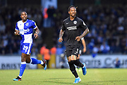 Gaetan Bong (3) of Brighton and Hove Albion during the EFL Cup match between Bristol Rovers and Brighton and Hove Albion at the Memorial Stadium, Bristol, England on 27 August 2019.