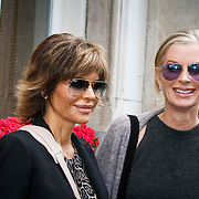 NLD/Amsterdam/20141002 - Actrice van de serie The Real Housewives of Beverly Hills in Amsterdam, Lisa Rinna en Lisa Vanderpump