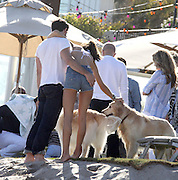 29.MAY.2011 MALIBU<br /> <br /> BRAZILIAN SUPER MODEL ALESSANDRA AMBROSIO AND HUSBAND JAMIE MAZUR PARTY WITH FRIENDS AT A MALIBU BEACH HOUSE OVER THE MEMORIAL DAY WEEKEND.  <br /> <br /> BYLINE: EDBIMAGEARCHIVE.COM<br /> <br /> *THIS IMAGE IS STRICTLY FOR UK NEWSPAPERS AND MAGAZINES ONLY*<br /> *FOR WORLD WIDE SALES AND WEB USE PLEASE CONTACT EDBIMAGEARCHIVE - 0208 954 5968* PEOPLE OF THE EIGHTH DAY OF FRANCE INTERNATIONAL TENNIS ROLAND GARROS 2011