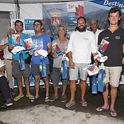 Remise des prix de la 2nde étape la Mini Transat La Boulangère au Marin