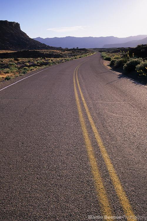 Desert highway, Glen Canyon National Recreation Area, Arizona