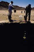 Assamo, Djibouti. At the fresh water well.
