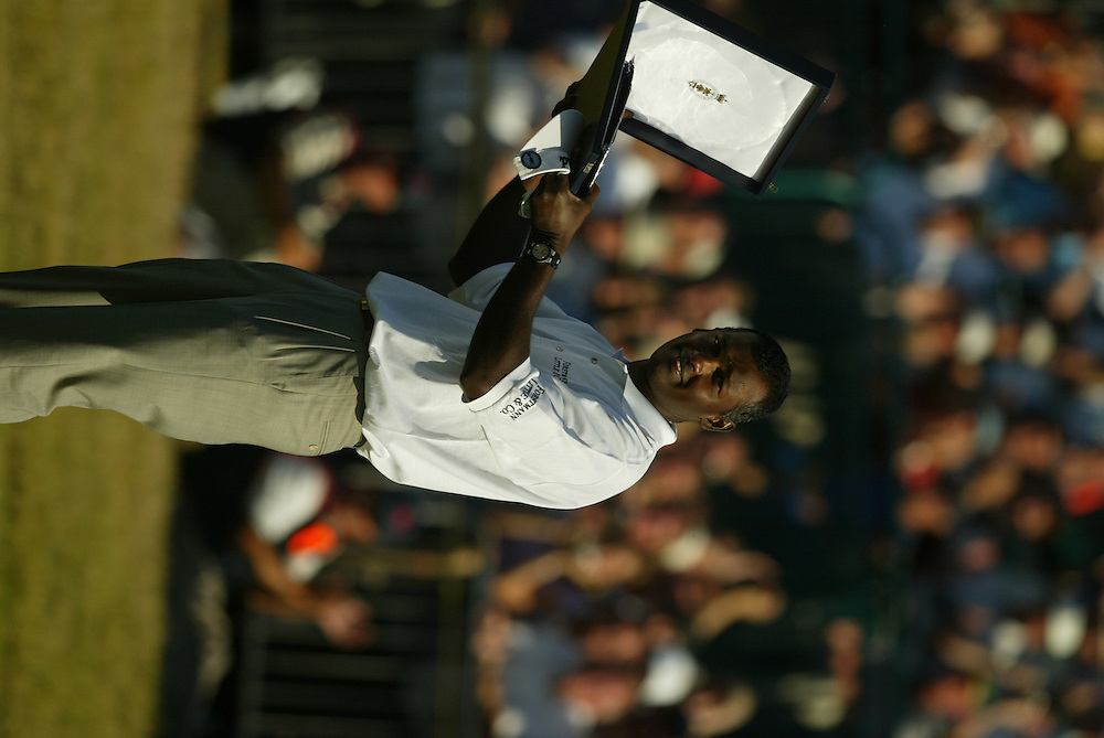 Vijay Singh..2003 British Open..Fourth Round..Royal St. George's Golf Club..Sandwich, Kent, England..Sunday, July 20  2003..photograph by Darren Carroll