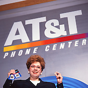 AT&T Phone Center Manager - for FOCUS, AT&T corporate magazine.