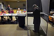Nederland, Nijmegen, 3-3-2010Verkiezingsbord met affiches voor de komende gemeenteraadsverkiezingen.Netherlands, election board with posters for the forthcoming European elections.Foto: Flip Franssen/Hollandse Hoogte