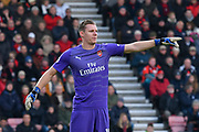 Bernd Leno (19) of Arsenal during the Premier League match between Bournemouth and Arsenal at the Vitality Stadium, Bournemouth, England on 25 November 2018.