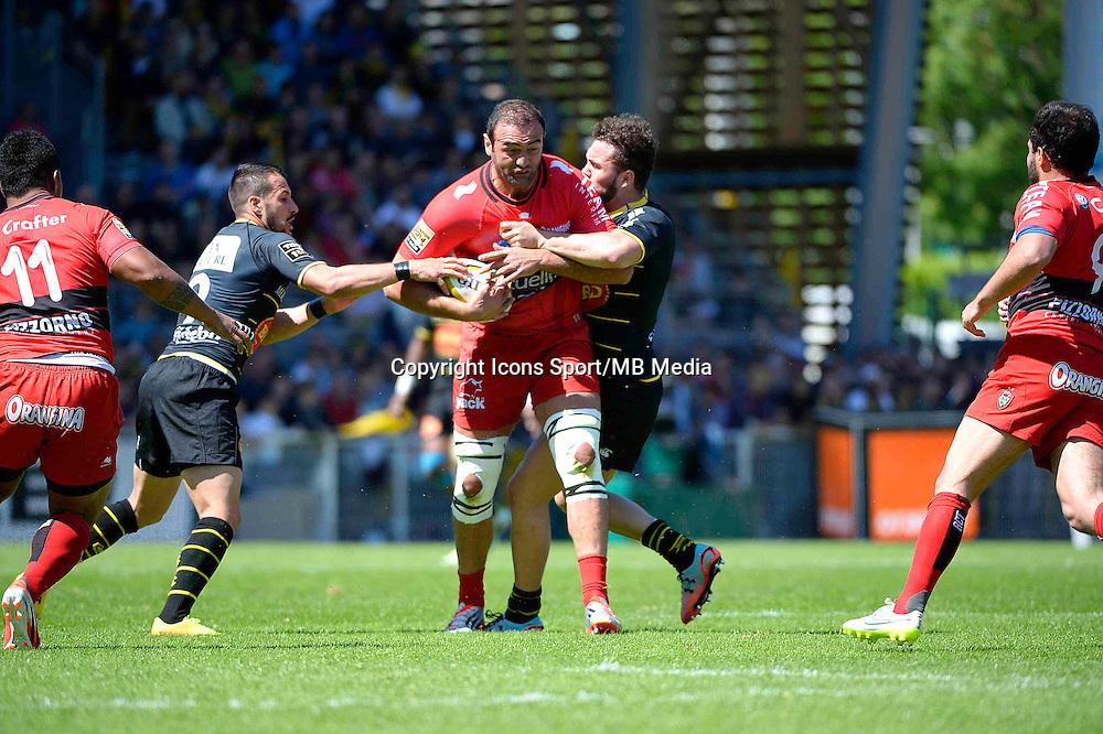 Mamuka GORGODZE - 25.04.2015 - La Rochelle / Toulon - 23eme journee de Top 14<br />Photo : Caroline Blumberg / Icon Sport