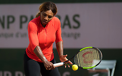 May 21, 2019, Paris, France: SERENA WILLIAMS of the United States practices ahead of the 2019 Roland Garros Grand Slam French Open tennis tournament (Credit Image: © AFP7 via ZUMA Wire)