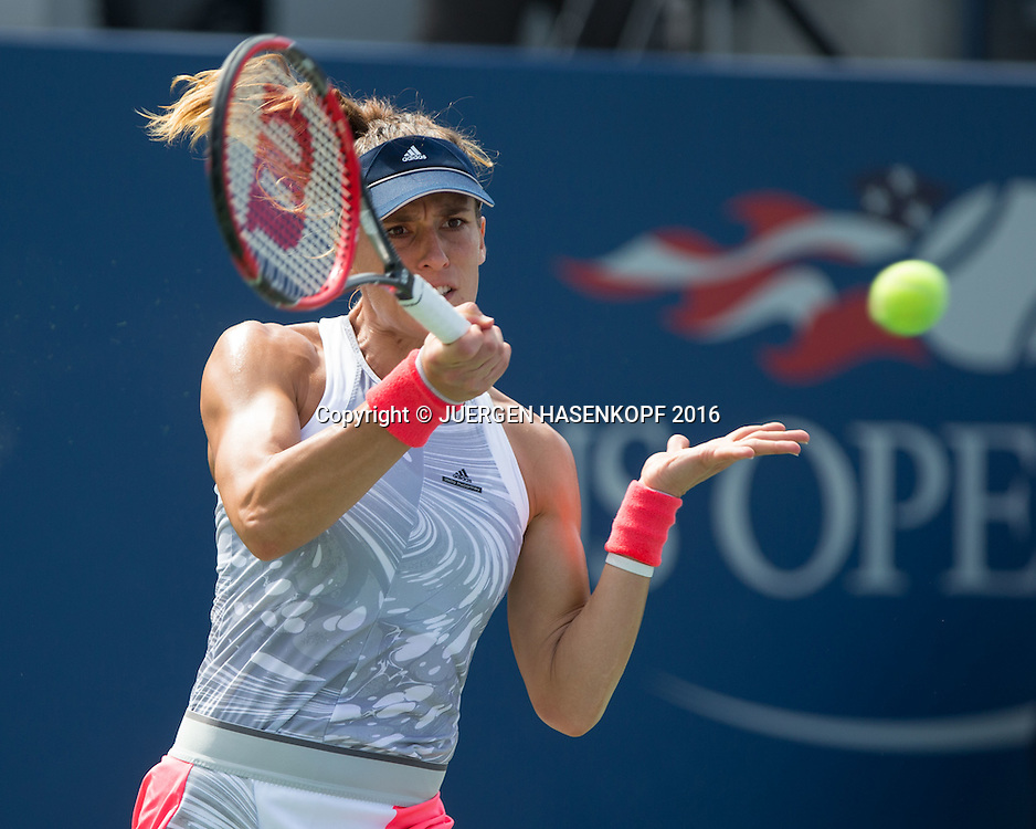 ANDREA PETKOVIC (GER)<br /> <br /> Tennis - US Open 2016 - Grand Slam ITF / ATP / WTA -  USTA Billie Jean King National Tennis Center - New York - New York - USA  - 31 August 2016.